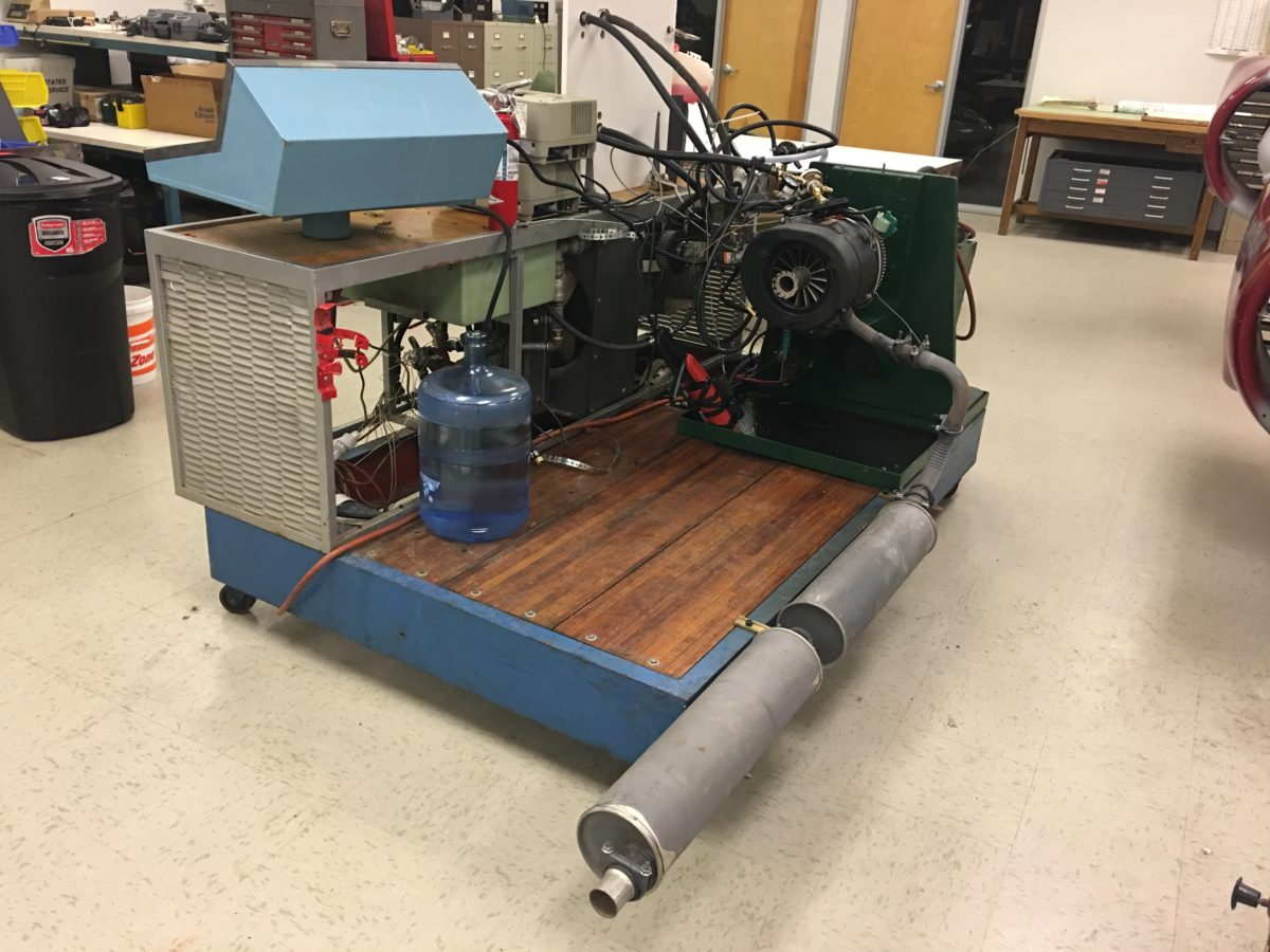 Rotapower Engine Dyna Testbed
